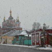 Снег в Коломне :: Марина Грушина