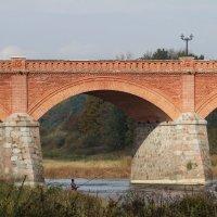 Кулдига, мост через Венту. :: Ирина Волкова