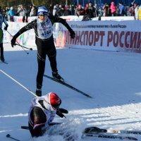 Лыжня России, Перекоп :: Василий Ахатов