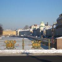 Зимой на Фонтанке :: Елена Семигина