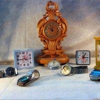Ничто так не искажает представления о времени, как часы.... :: Андрей Заломленков
