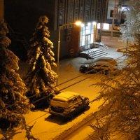 Ночь в зимнем городе :: Александр Винников