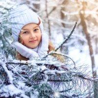 Снегурка Лиза :: Ольга Малинина
