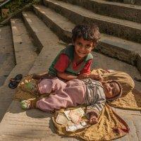Непальские дети. :: Ирина Токарева