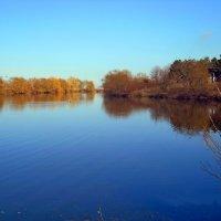 Голубое озеро :: Виктор Шандыбин