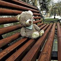 отдых на лавочке :: Мария Климова