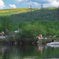 Мурманск. Отдых на озере «Большой лапоть». :: kolin marsh