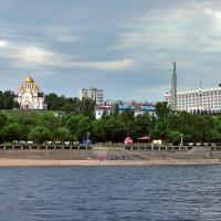 Площадь Славы в Самаре. Вид с Волги :: Денис Кораблёв