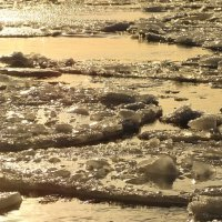 Лёд,река и солнце :: Владимир Гилясев