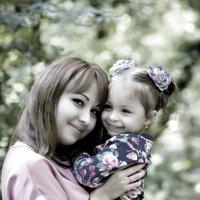 Любимая дочка Любимая мама! :: Андрей Молчанов