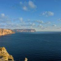 Самое синее в мире, Чёрное море моё. :: Александр Пушкарёв