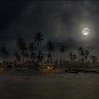 Индия .Гоа. ночь на берегу :: юрий макаров