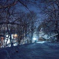 Вечернее морозное :: Алексей Герасимов