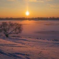Морозный закат :: СэрЖ По