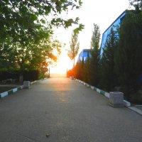 База отдыха на закате :: Люша