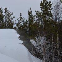 На Донах зимой. Белое море, г.Северодвинск. :: Михаил Поскотинов