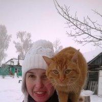 Она со мной! :: Елена Данилычева