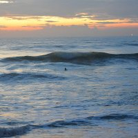 Одинокий пловец :: Асылбек Айманов