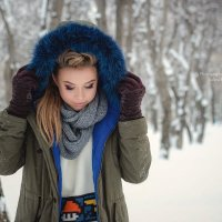 Зимняя фотосессия :: Юлия Кравцова