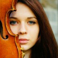 Анастасия и скрипка :: Анастасия Сидорова
