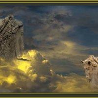 """""""Противостояние на небесах.......Похищение Европы......Кто кого!."""" :: victor buzykin"""