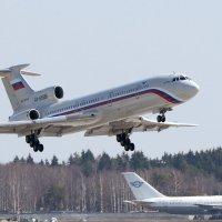 Флагман России Ту - 154б ( м ) :: Олег Савин