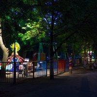 ночной парк :: Алексей Носков