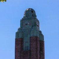 Башня с часами. :: Александр Марусов