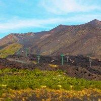 Подъемник на вулкан Этна :: Witalij Loewin