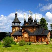 Храм всех святых,. :: Николай Бердышев