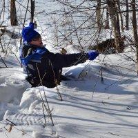 в снегу :: Натали Акшинцева