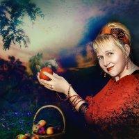 Красные яблоки :: Olga Zhukova