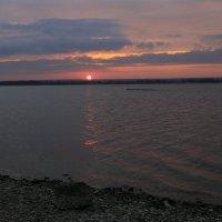 Февральский закат 20 02 16 :: Юрий Клишин