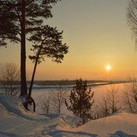 На закате зимы :: Евгения Семененко