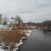 Церковь у реки Черёха, Псковщина :: BoxerMak Mak