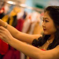 looking for a dress :: Sofia Rakitskaia