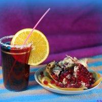 Обожаю сок душистый, 100- процентный – чистый, чистый! :: Андрей Заломленков