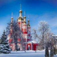 Церковь Иоанна Предтечи. :: Александр Селезнев
