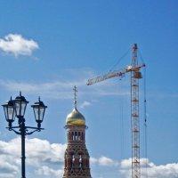 Строительство храма :: Елена Надеждина