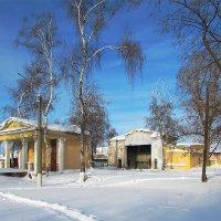 Зимний парк железнодорожников :: Canon PowerShot SX510 HS