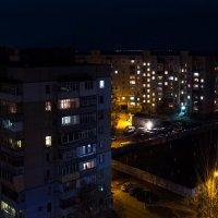 Город в огнях :: Алёна Найдёнова
