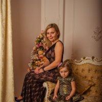 Ольга и маленькая Лиза :: Таня Ланская