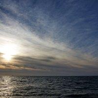 Когда на море закат.. :: Виолетта