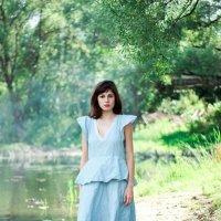 Девушка в озере :: Марина Ивлева