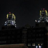 Новосибирские башни двойняшки :: Евгений Фролов