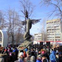 Открытие мемориала Воинское Братство . :: Мила Бовкун