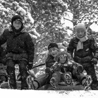 К спуску с горы готовы... :: Марина Савчиц