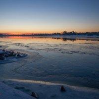 Закат на реке Волга. :: Дмитрий Постников
