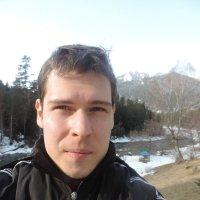 Я на фоне горной реки :: Dmitry Impaler