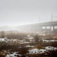 """Туман, """"доедающий"""" снег. :: Laborant Григоров"""